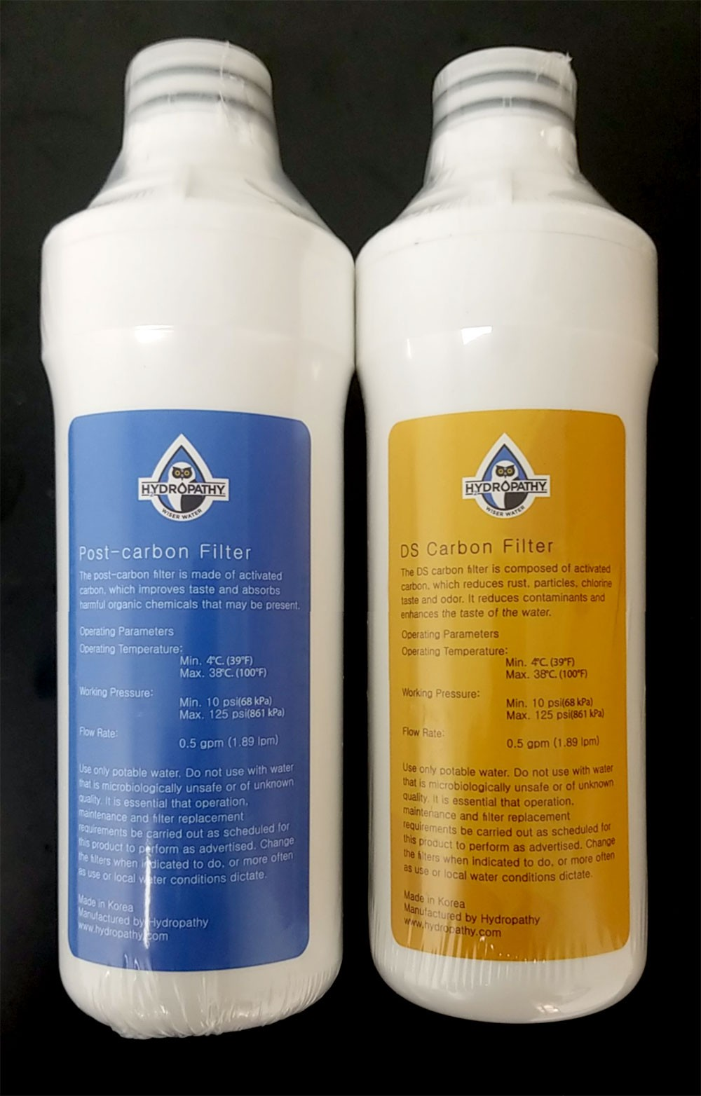 Hydropathy Asio Replacement Filters