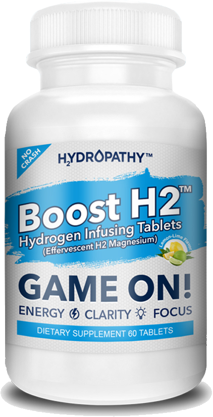 Boost H2 Hydrogen Infusing Tablets: Game On!