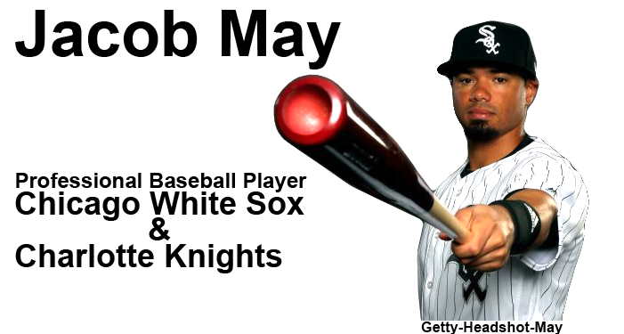 Jacob May Professional Baseball Player White Sox